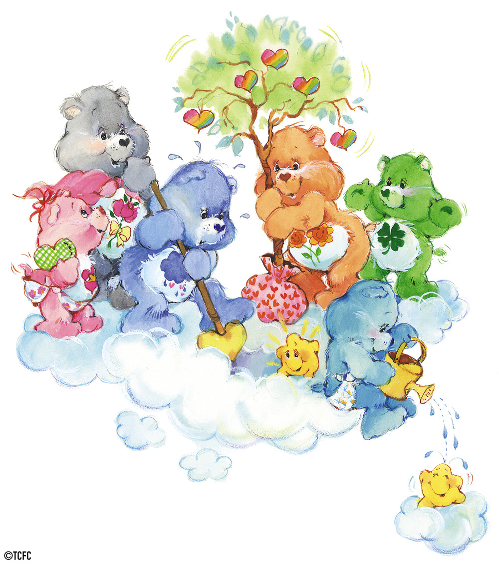 Care Bears Planting Heart Trees By American Greetings