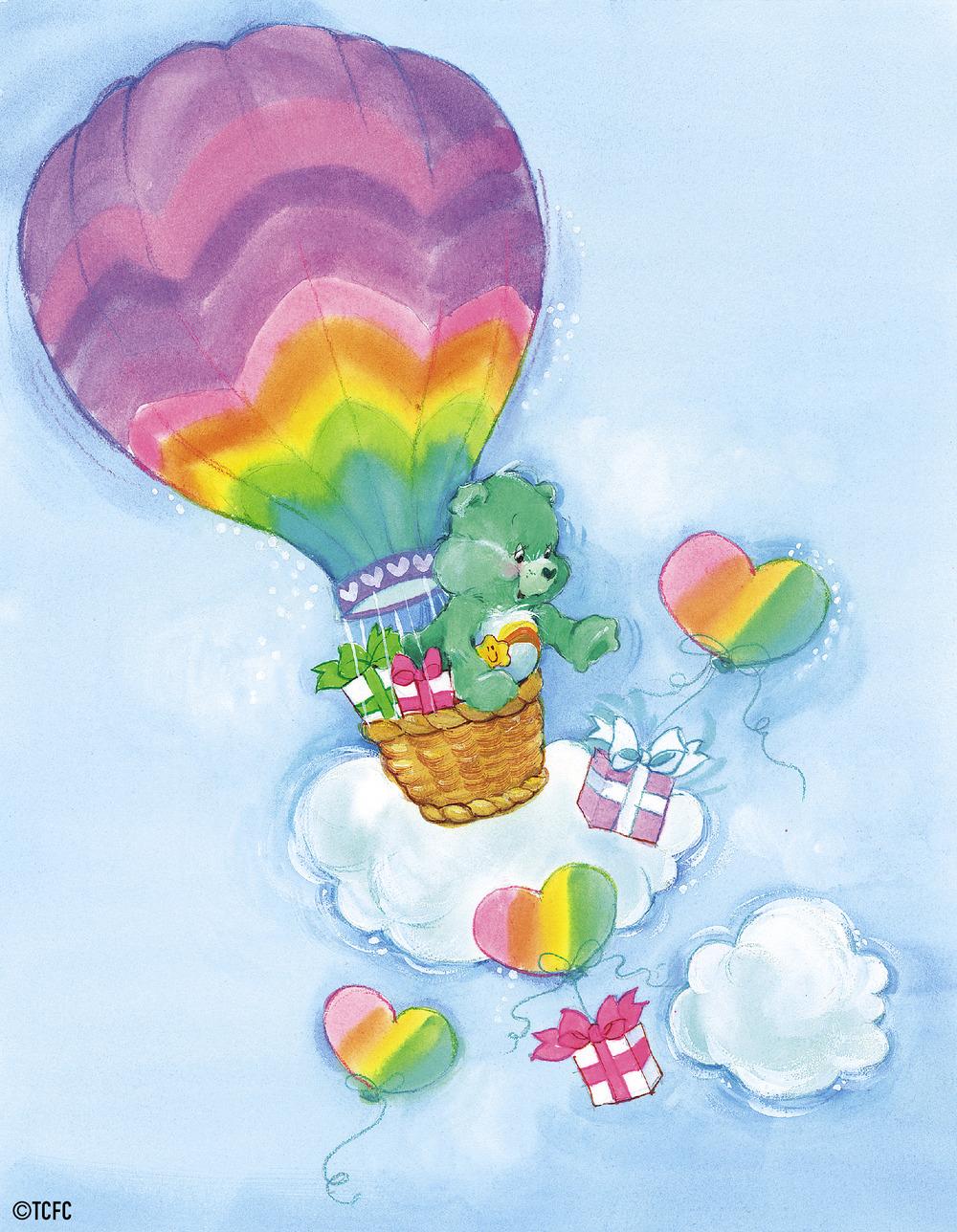 Wish Bear Hot Air Balloon By American Greetings Americangreetings